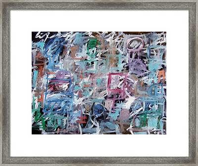 Composition No. 1 Framed Print by Michael Henderson