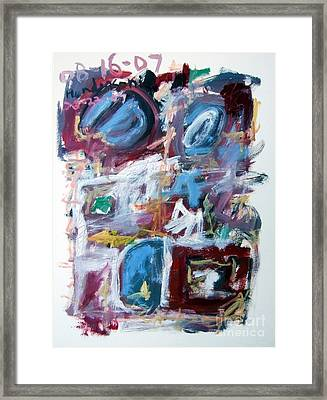 Composition No. 10 Framed Print by Michael Henderson