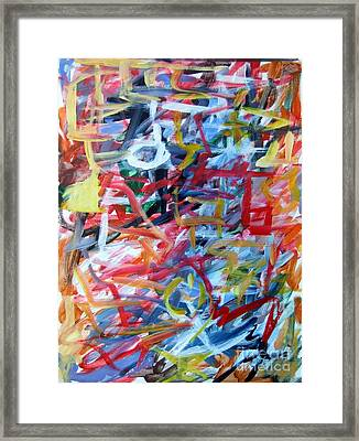 Composition No. 11 Framed Print by Michael Henderson