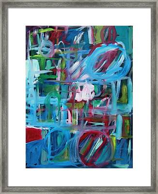 Composition No 2 Framed Print by Michael Henderson