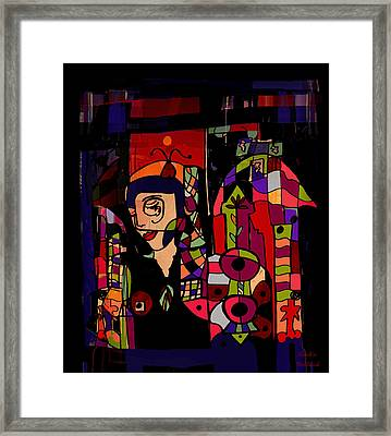 Composition No. 2 Framed Print