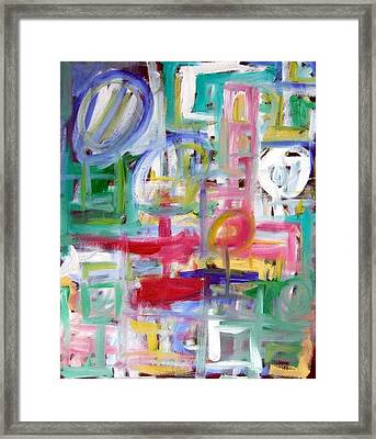 Composition No. 5 Framed Print by Michael Henderson