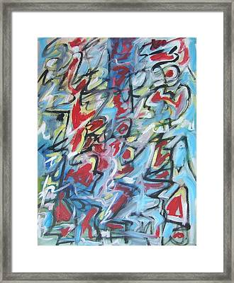 Composition No 7 Framed Print by Michael Henderson