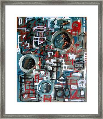 Composition No 9 Framed Print by Michael Henderson