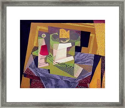 Composition On A Table Framed Print