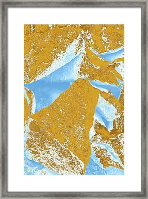 Composition Three Framed Print
