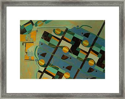 Composition Xxi 07 Framed Print by Maria Parmo