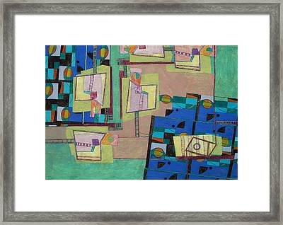 Composition Xxii 07 Framed Print by Maria Parmo