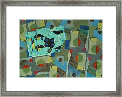 Composition Xxv 07 Framed Print by Maria Parmo