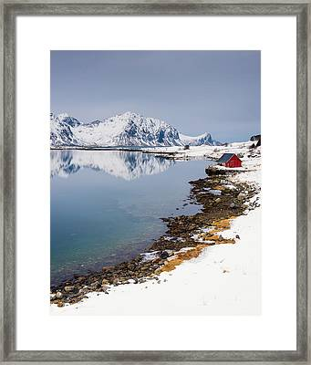 Composure - Vertical Framed Print by Michael Blanchette