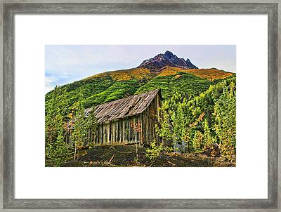 Compressor Shack Framed Print