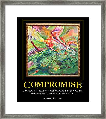 Compromise Framed Print