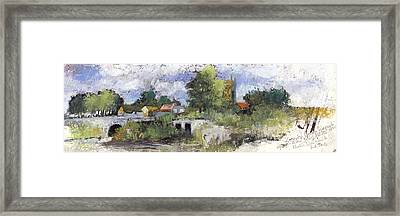 Compton Dando Somerset, After William James Mueller 1845 Framed Print