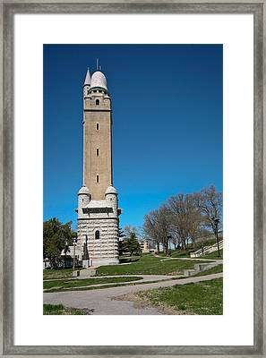 Compton Hill Water Tower-1 Framed Print