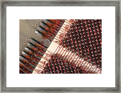Computer Core Memory Framed Print