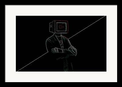 Automated Paintings Framed Prints