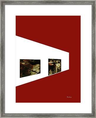 Comrades Framed Print