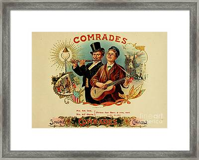 Comrades Framed Print by Pd