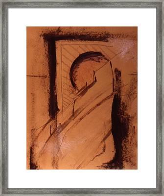 Comtemplation Framed Print by Chris  Riley