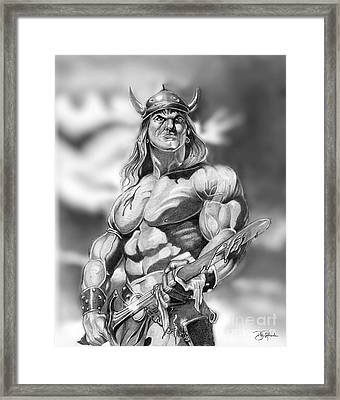 Conan Framed Print by Bill Richards