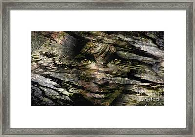 Concealed Emotions Framed Print