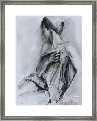 Concealed Framed Print by Kristina Laurendi Havens