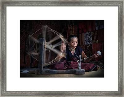 Concentration Framed Print by Aman Ali Surachman