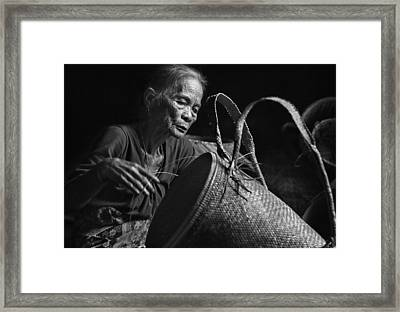 Concentration Framed Print by Dodyherawan