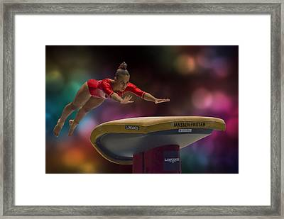 Concentration Framed Print by Tejo Coen