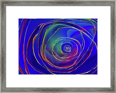 Concentric Framed Print by Alexis Baranek