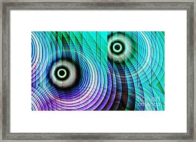 Concentric Rings 4 Framed Print