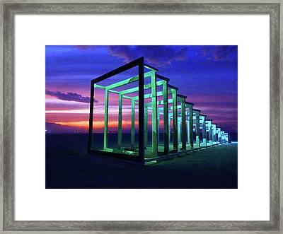 Concentric Smile IIi Framed Print