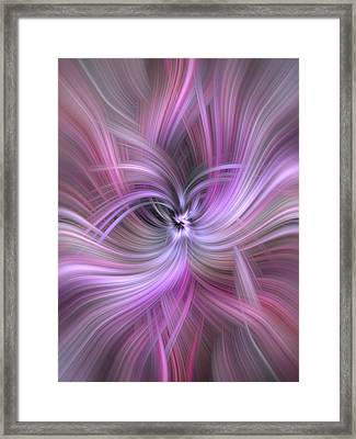 Concept Experience Framed Print by Jenny Rainbow