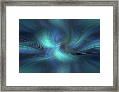 Concept Respect For Nature Framed Print by Jenny Rainbow