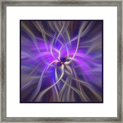 Concept Spirituality. Square  Framed Print by Jenny Rainbow