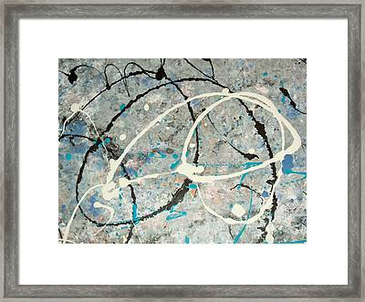 Abstract Conception Framed Print by Micki Rongve
