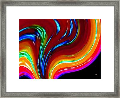 Conceptual 10 Framed Print by Will Borden