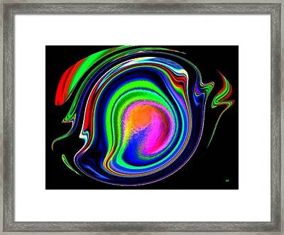 Conceptual 11 Framed Print by Will Borden