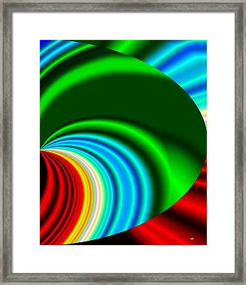 Conceptual 17 Framed Print by Will Borden
