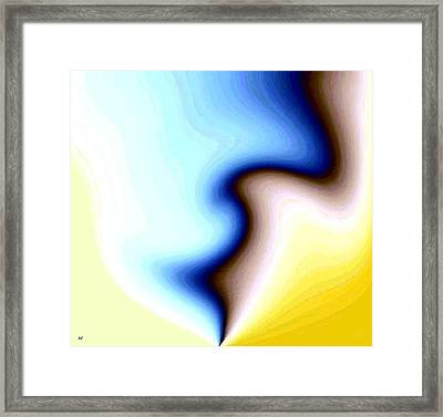 Conceptual 7 Framed Print by Will Borden