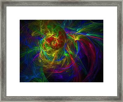 Conceptual Alchemy Framed Print by Lyle Hatch
