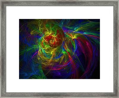 Conceptual Alchemy Framed Print