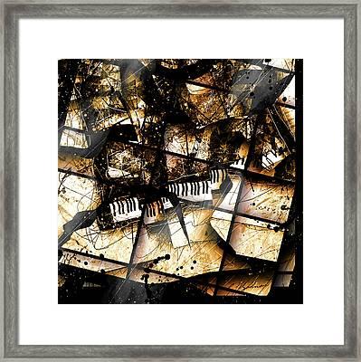 Concerto V Framed Print by Gary Bodnar