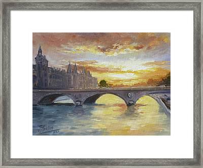 Conciergerie, Paris Framed Print