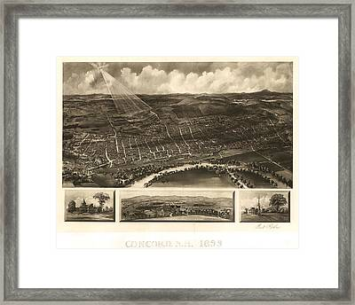 Concord 1899 Framed Print by Mountain Dreams