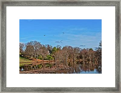 Concord Ma Framed Print by Larry Richardson