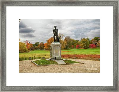 Concord Old North Bridge Framed Print by Jeff Folger
