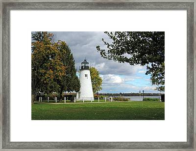 Concord Point Lighthouse  Framed Print by Ben Prepelka