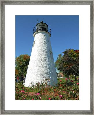 Concord Point Lighthouse Framed Print by Emmy Marie Vickers