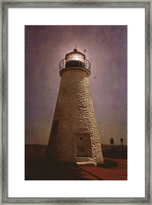 Concord Point Lighthouse  Framed Print by Trina  Ansel